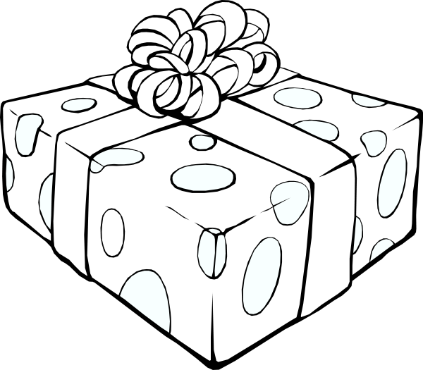 Image Result For Gift Box Coloring