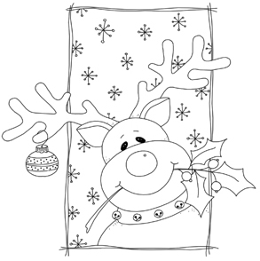 Image Result For Reindeer Printable Coloring