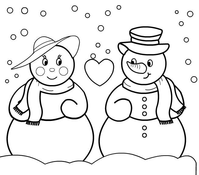 Snowman iii little english with kru ni - Dessin bonhomme de neige facile ...