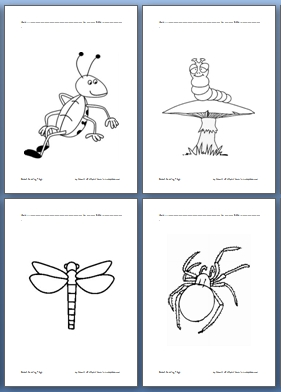 Insect Coloring