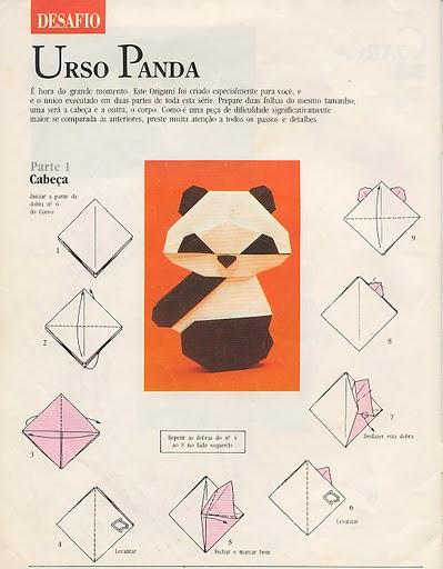 Origami Panda Little English