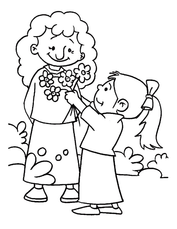 Child Images Coloring Pages